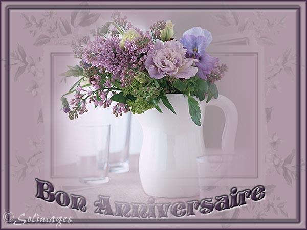 cartes virutelles solimages anniversaire roses. Black Bedroom Furniture Sets. Home Design Ideas