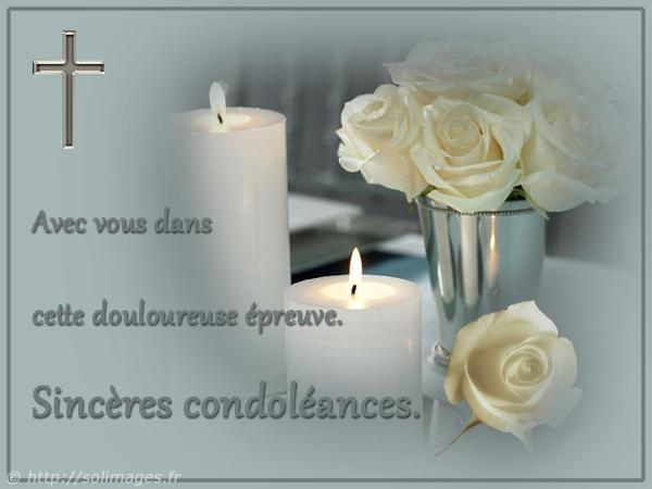 Cartes virtuelles Condoléances