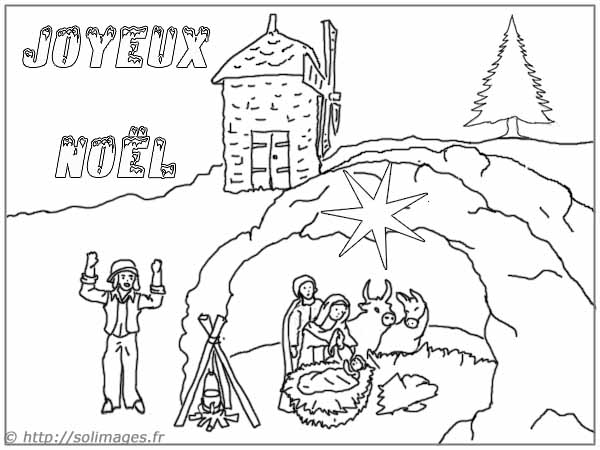 Search results for joyeux noel coloriage calendar 2015 - Coloriage creche de noel ...