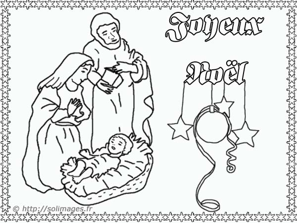 Index of cartes coloriage images - Coloriage creche de noel ...