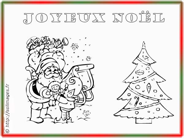 carte joyeux noel coloriage. Black Bedroom Furniture Sets. Home Design Ideas